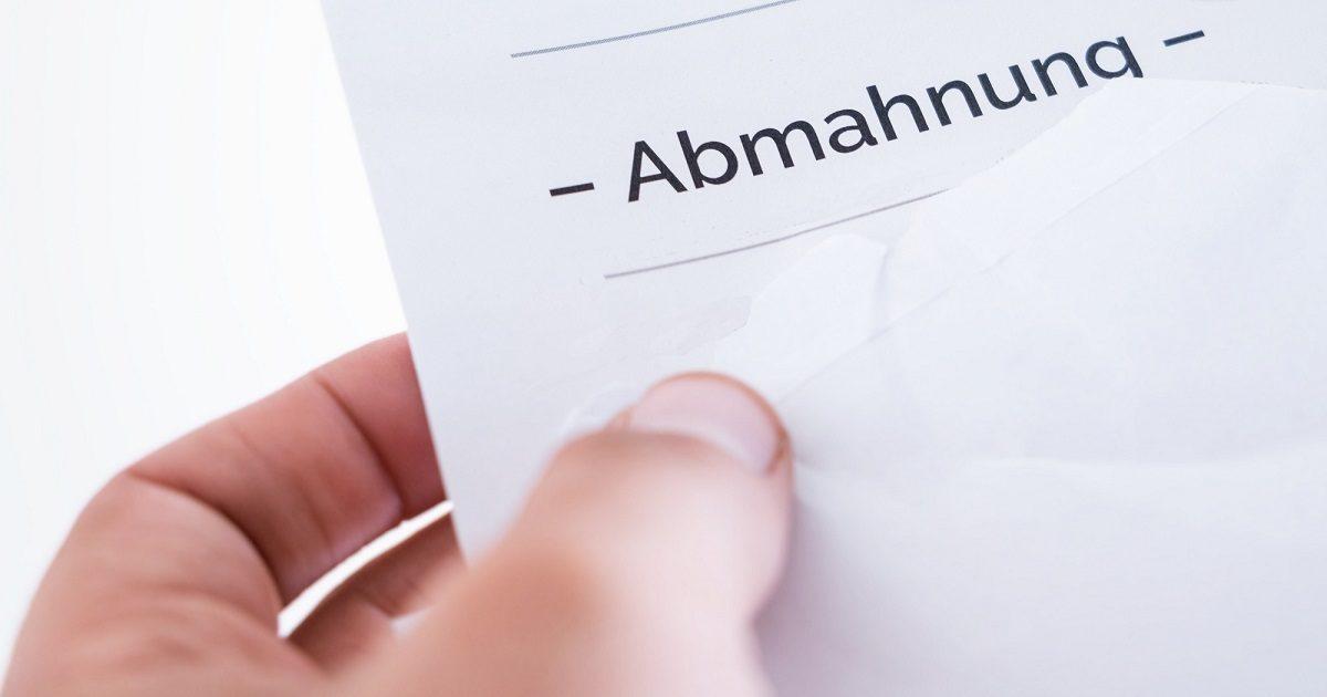 Abmahnbrief